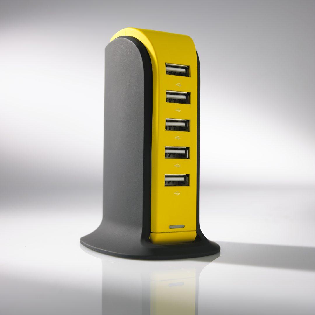 POWER TOWER TÖLTŐÁLLOMÁS, 5 USB
